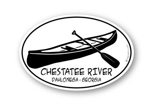 Wholesale Canoe and Paddle Sticker