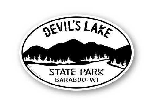 Wholesale Mountains and Trees Sticker