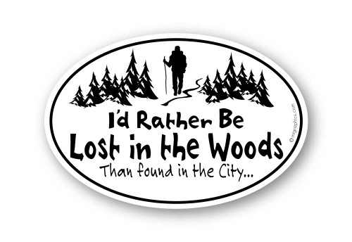 Wholesale Classic Lost in the Woods Sticker