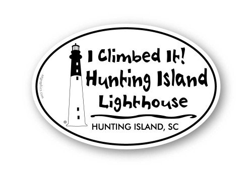 Wholesale Hunting Island Lighthouse Sticker
