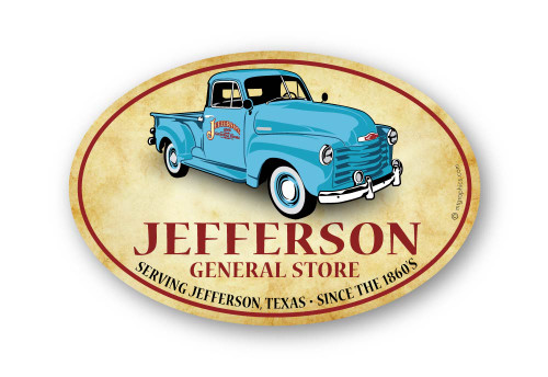 Wholesale Chevy Truck Sticker - Oval