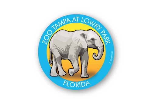 Wholesale Elephant Sticker