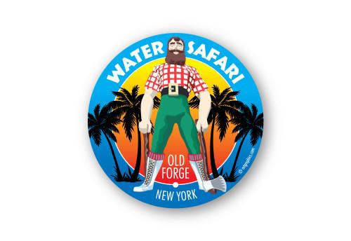Wholesale Paul Bunion Sticker - Round