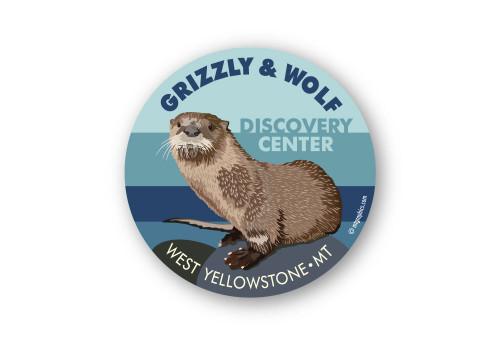 Wholesale River Otter Portrait Sticker