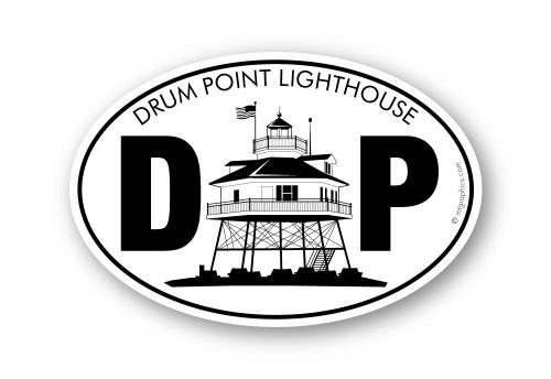 Wholesale Drum Point Lighthouse Sticker