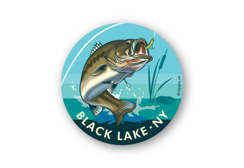 Wholesale Large Mouth Bass Sticker