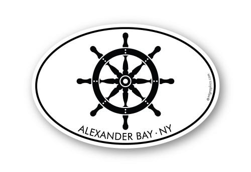Wholesale Ships Wheel Sticker