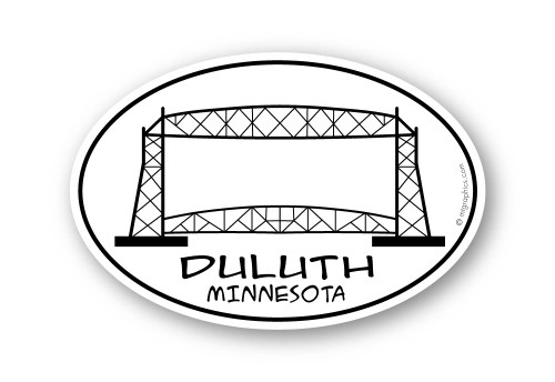 Wholesale Duluth Bridge Sticker
