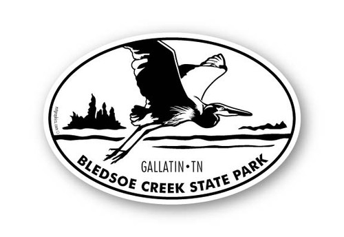 Wholesale Blue Heron in Flight Sticker