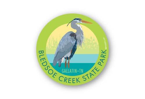 Wholesale Blue Heron Sticker