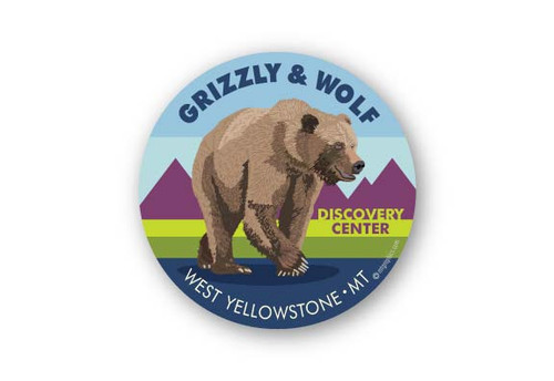 Wholesale Grizzly Sticker