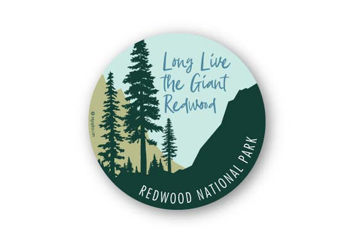 Wholesale Long Live the Redwoods Sticker