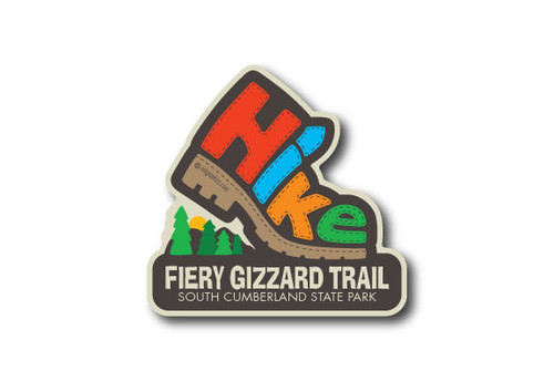 Wholesale Die Cut Hike Sticker