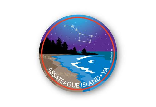 Wholesale Beach Night Sticker