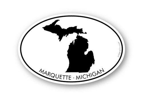 Wholesale Michigan Silhouette Sticker