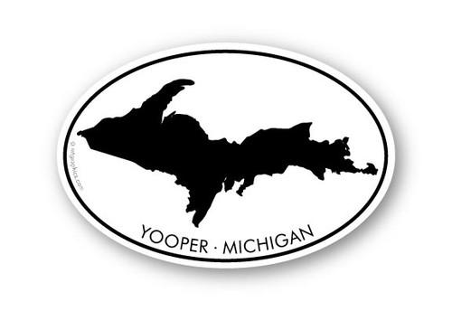 Wholesale Michigan Upper Peninsula Sticker