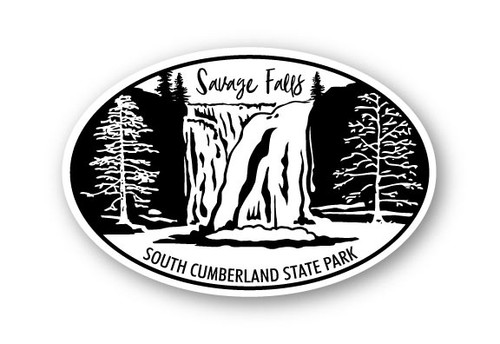 Wholesale Savage Falls Sticker