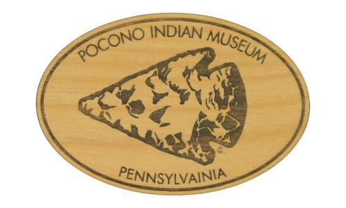 Wholesale Arrowhead Wooden Magnet