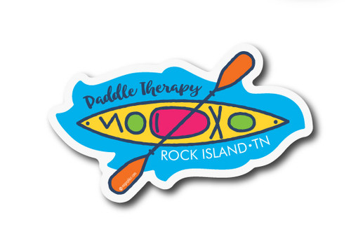 Wholesale Die Cut Paddle Therapy Sticker