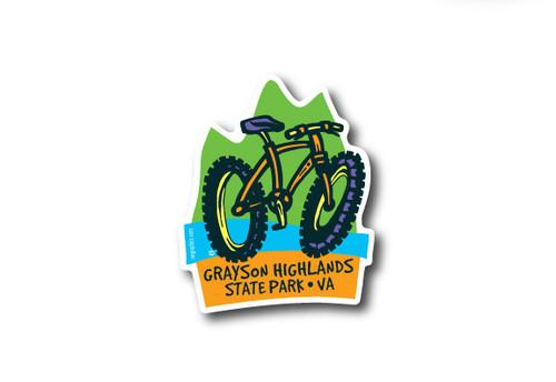 Wholesale Die Cut Bike Sticker