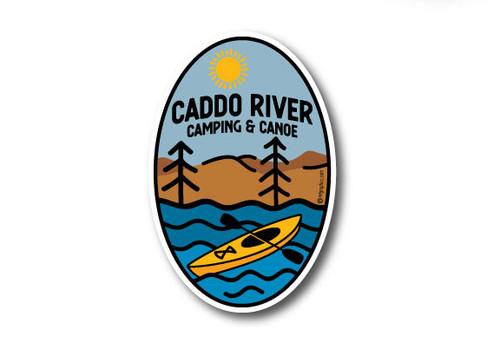 Wholesale Kayak River Sticker Vertical