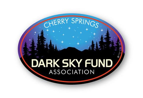 Wholesale Dark Sky Sticker Oval