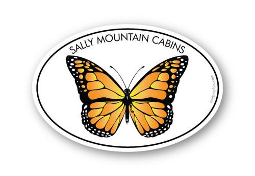 Wholesale Monarch Butterfly Sticker