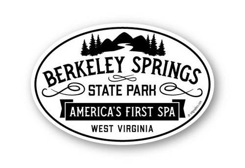 Wholesale Springs and Mountain Sticker