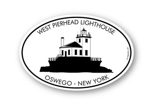 Wholesale West Pierhead Lighthouse Sticker