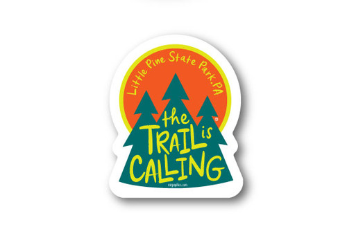 Wholesale Die Cut The Trail is Calling Sticker
