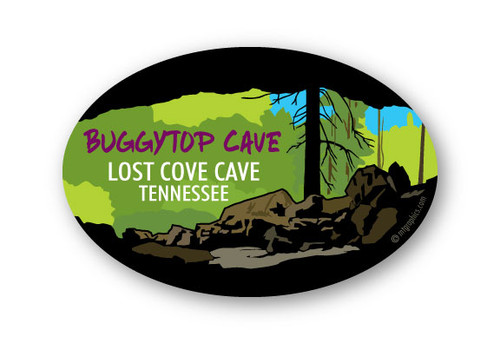 Wholesale Buggytop Cave Sticker