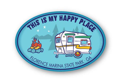 Wholesale Happy Place Sticker