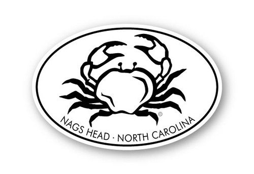 Wholesale Crab 4x6 Sticker