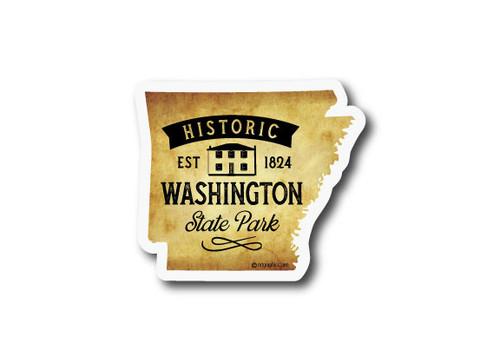 Wholesale Die Cut Arkansas Sticker