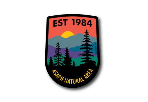 Wholesale Vertical Badge Die Cut Sticker