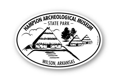 Wholesale Native American Huts Sticker