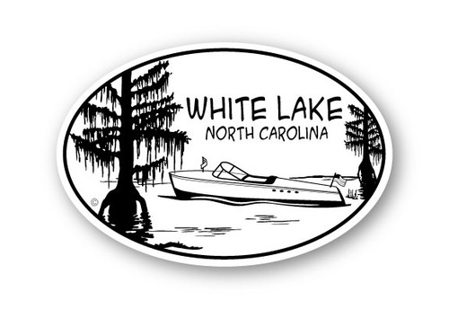 Wholesale Cypress Trees with Boat Sticker