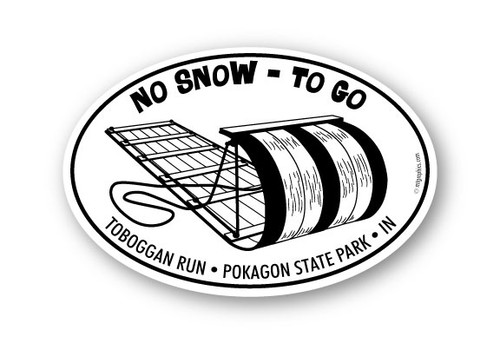Wholesale Toboggan Sticker