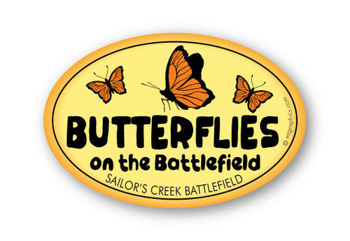 Wholesale Butterflies 4x6 Sticker