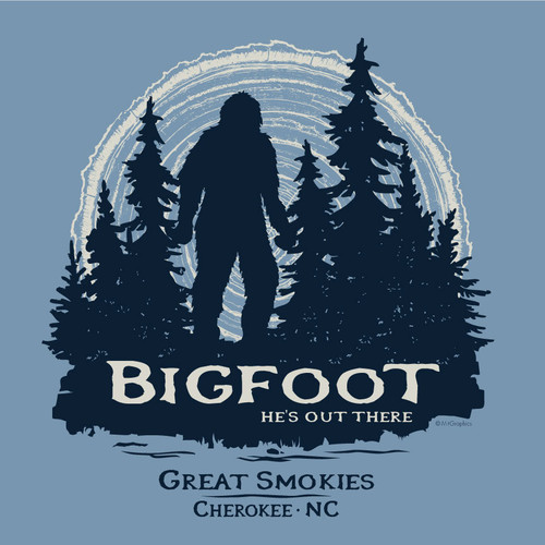 Wholesale Bigfoot Forest Tee