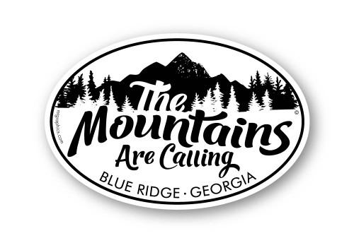 The Mountains Are Calling Blue Ridge Georgia