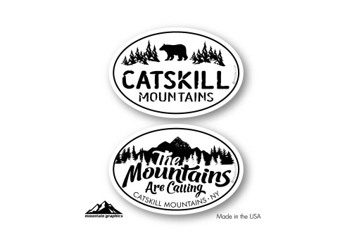 "Two 2""x3"" oval stickers"