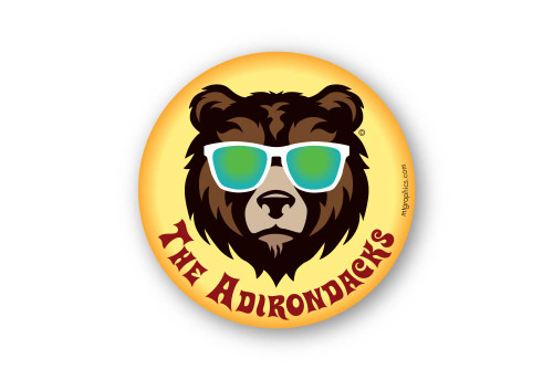 Cool Bear Adirondacks Sticker