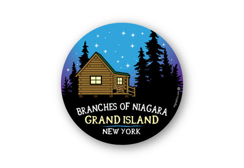 Wholesale Night Sky Cabin Sticker