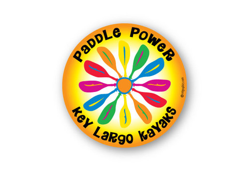 Wholesale Paddle Power Sticker