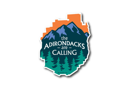 Wholesale ADK Park Mountians Die Cut Sticker