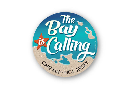 Wholesale The Bay is Calling round Sticker