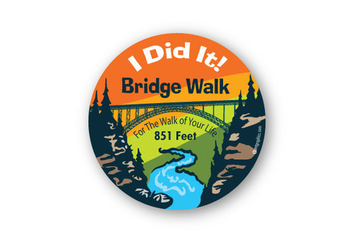 Wholesale I Did It Bridge round Sticker