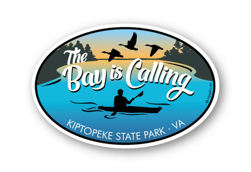 Wholesale The Bay is Calling Oval Sticker