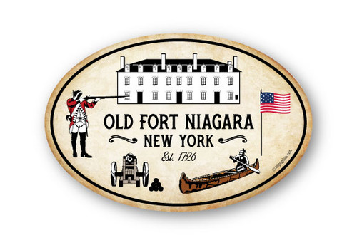 Wholesale Old Fort Oval Sticker